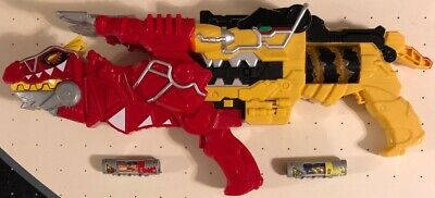 Power Rangers Dino Super Charge Morpher T-Rex Morpher Blaster Set / 2 Chargers