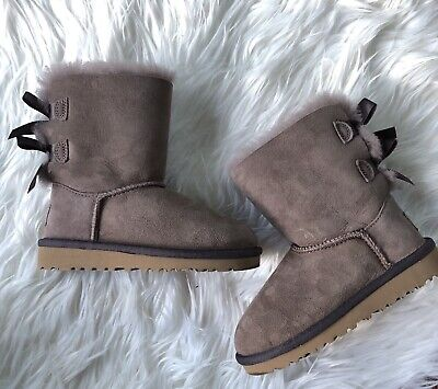 f4d589a5757 TODDLER UGG AUSTRALIA Mini Bailey Button Boots Chocolate Authentic ...