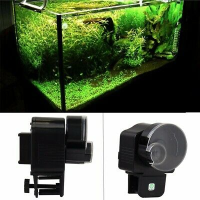 Automatic Fish Feeder Aquarium Tank Pond Food Auto Dispenser Pet Timer Feeding