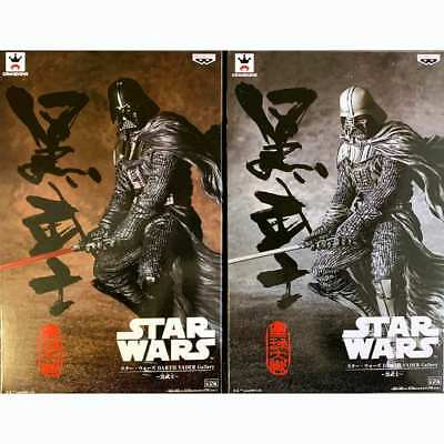 Star Wars DARTH VADER Gallery black samurai Figure Set BANPRESTO JAPAN