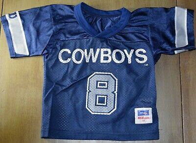 new concept 955c1 a9104 VINTAGE DALLAS COWBOYS Toddler Troy Aikman Jersey Size 3T Champion Rare