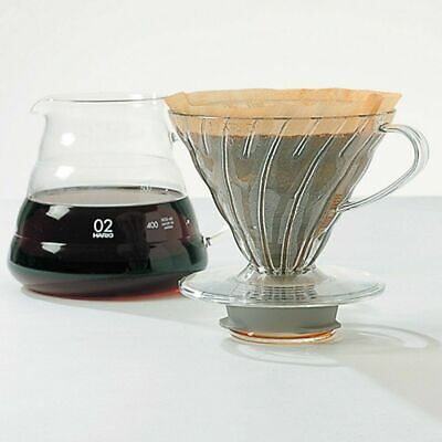 "Hario V60""Clear"" Glass Range Coffee Server, 600ml Has a crack"