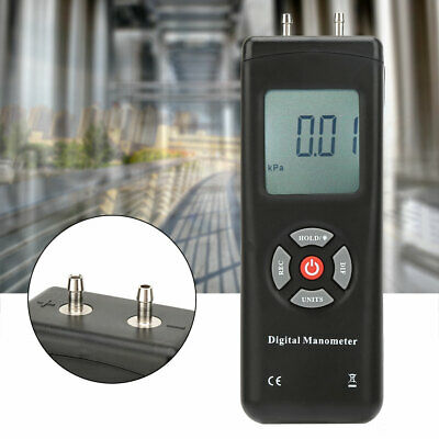 TL100 Handheld Digital Differential Pressure Gauge +2psi