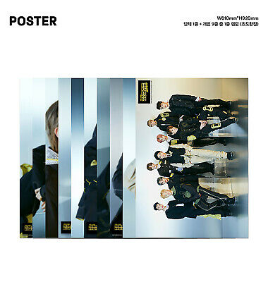 [NCT127]NCT #127 WE ARE SUPERHUMAN Official Folded Poster