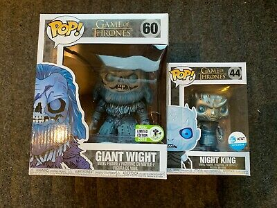 Funko POP! Giant Wight ECCC 2018, Night king AT&T Exclusive Game of Thrones