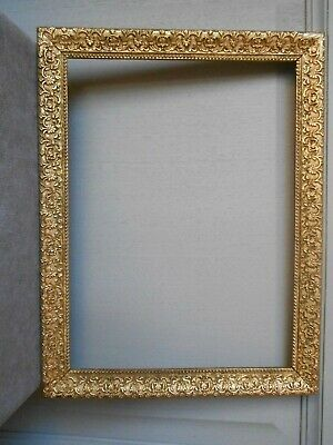 """Antique french Gilded WOOD FRAME 13"""" H"""
