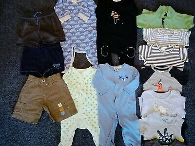 Bulk Lot Baby Boy Clothes - Size 00