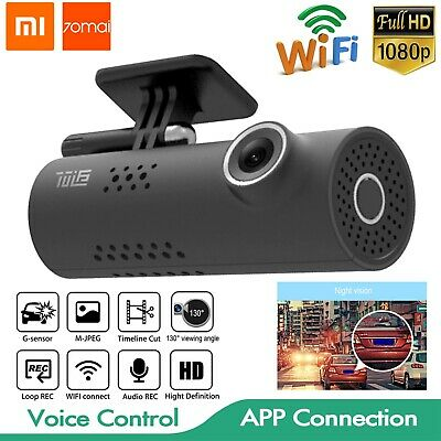 International version Xiaomi 70mai Dashcam Smart WiFi Auto DVR 1080P HD Recorder