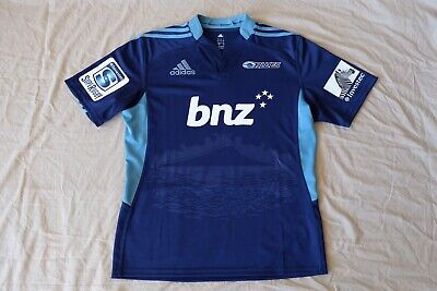Auckland Blues Super Rugby Jersey. Size Large.