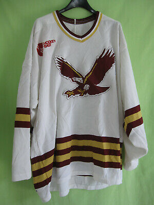 Maillot Hockey Eagles Boston College Vintage CCM Homme Made in USA Jersey - L