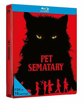 Pet Sematary [2019] (Blu-ray Steelbook) NEW / SEALED - PRE-ORDER