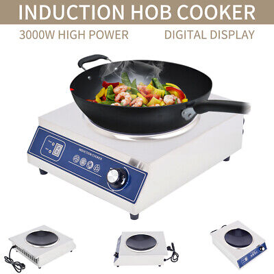3000W Electric Induction Cooker HotPlate Stove Induction Hob Electric Cooker