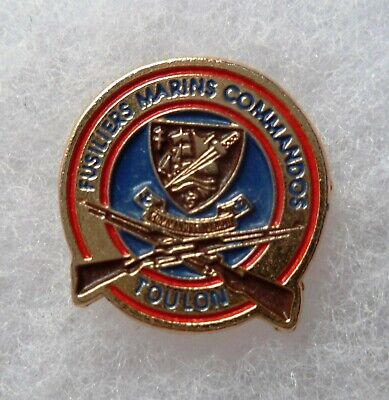 PINS AMICALE FUSILIERS MARINS COMMANDOS TOULON (insigne) Marine ORIGINAL