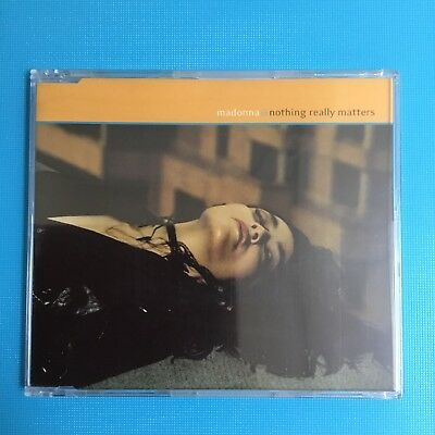 MADONNA - Nothing Really Matters - 1999 *NEW SEALED* CD Single - 3 Tracks