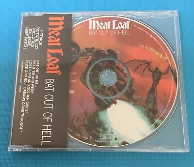 MEAT LOAF - Bat Out Of Hell *NEW SEALED* CD MAXI 4 Tracks Free Patch