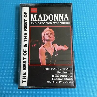 Madonna - The Early Years - The Best Of (Rare Original Cassette Tape)