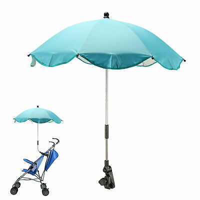 Blue Ladybird Parasol Umbrella Canopy Pushchair Pram Buggy universal fit