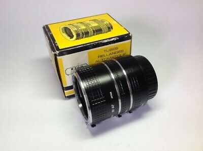 AICO Automatic Extension Tube Set for Sony Minolta AF