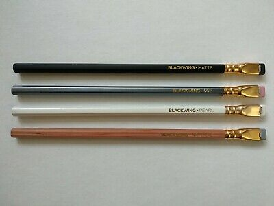PALOMINO BLACKWING 4Pencils SET(Original, 602, Pearl, Natural 1each)