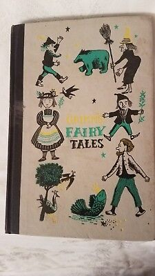 Vintage Grimm's Fairy Tales 1954 edition Childrens Fairy Tales