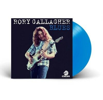Rory Gallagher - Blues. 2Lp Blue Vinyl. Ultra Rare. Sealed Pre-Order. New.