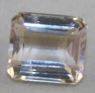 Natural Gemstone Loose Pink Kunzite 9X10Mm Faceted Octagon 4.1Ct Ku14