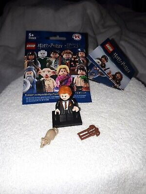 "lego mini figurine ""série Harry Potter"" personnage n°3  ron whisley 71022"