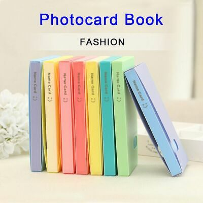 Portable Collection Lomo Card Holder Photocard Book Card Stock Photo Album