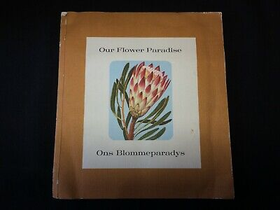 """Our Flower Paradise"" 1963 Coca Cola Book Kirstenbosch~South Africa, Complete"