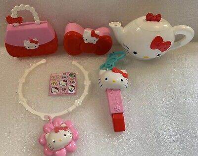 2017/2018 MCDONALDS Sanrio HELLO KITTY HAPPY MEAL TOYs Lot Of 5 Preowned