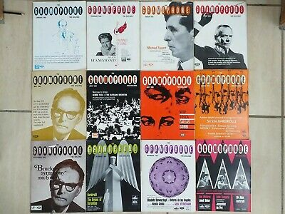12 Issues Of The Gramaphone Magazine Complete Year Set Jan - Dec 1965