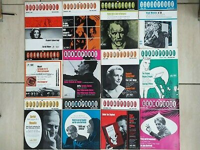 12 Issues Of The Gramaphone Magazine Complete Year Set Jan - Dec 1966