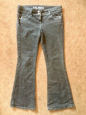 """d758f790047 Ladies """"Falmer"""" Matalan Jeans. Black, Boot Leg Flaired Bottoms. Size 14"""