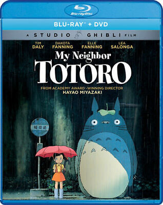 My Neighbor Totoro [New Blu-ray] With DVD, Widescreen, with slipcase!!!