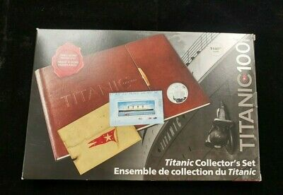 2012 Canada Deluxe 50-Cent, 25-Cent Coins & Stamps - The Titanic Collector's Set