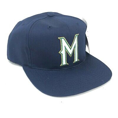 quality design 2273a 7b5b8 Vintage Milwaukee Brewers Outdoor Cap Co Adult Snapback Hat Blue Gold Green  M
