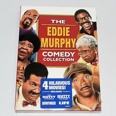 The Eddie Murphy Comedy Collection 4 Movies 2 DVDs Boxed Set New Sealed