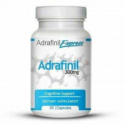 Adrafinil Express 300mg 30 Capsules Factory Fresh Bottle