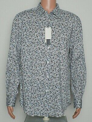 Perry Ellis #8549 NEW Men's Long Sleeve Stretch Button Front Shirt $79.50