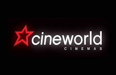 Cineworld Cinema E Code Tickets X5. Only Valid On Sundays. Codes sent by email.