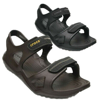 Mens boys Croc Swiftwater River Sandal Walking Shoe Summer Beach Mule UK 7-12