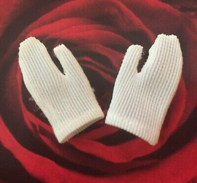 Vintage Barbie Skipper Francie Doll * Short White Tricot GLOVES List of Outfits!