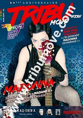 Madonna New France French Mag Tribu Move Cover 2019
