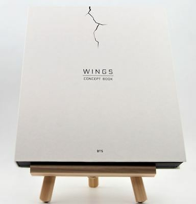BTS Wings Concept Book Bangtan Boys Members Limited Edition