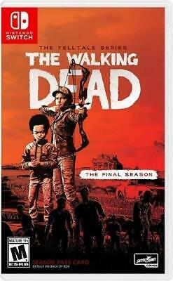 The Walking Dead The Final Season (Nintendo Switch) Brand New - Region Free