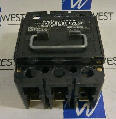 Boltswitch PAT325 400 Amp Pullout Switch