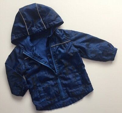 George Baby Boys Blue Monkey Printed Age 9-12 Months *I'll combine postage