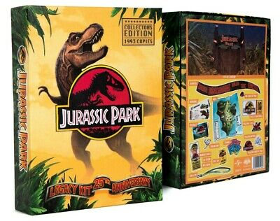 JURASSIC PARK. Collector's edition. 25th Anniversary.1993 copies released only!