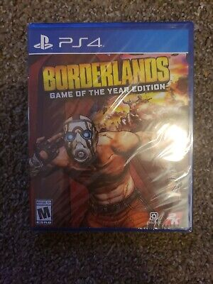 Borderlands Game of the Year Edition 2019 (PS4) New and Sealed