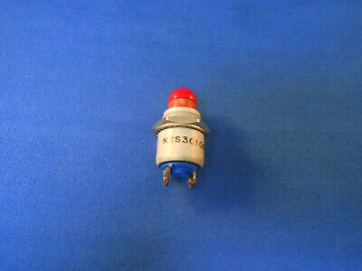 Nxs301005R  Nexus Red Push Switch  120.0 Ac / 28.0 Dc New Old Stock